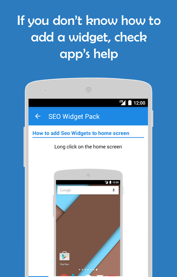 SWP: Seo widget pack- screenshot