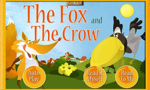 Fox Crow Storybook for Kids