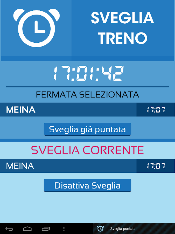 Info Treno - screenshot
