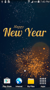 New Year Nights Live Wallpaper v1.0