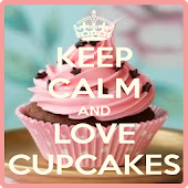 keep calm cupcake wallpaper