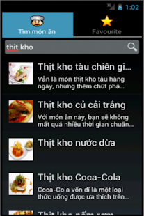mon an - nau an, cách nấu ăn- screenshot thumbnail