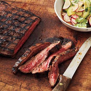 Hoisin-Glazed Steak with Sesame Vegetables.