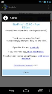 StarPrint, just Print! - screenshot thumbnail