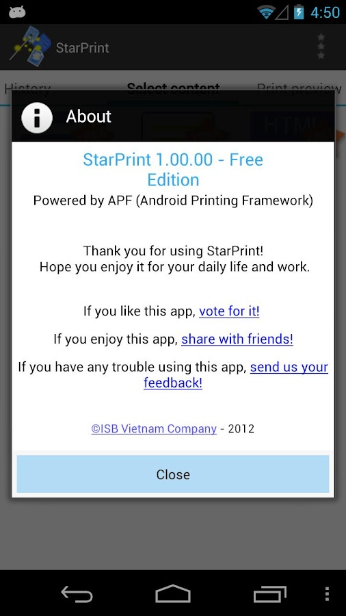 StarPrint, just Print! - screenshot