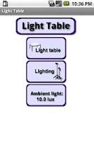 Screenshot of Light Table
