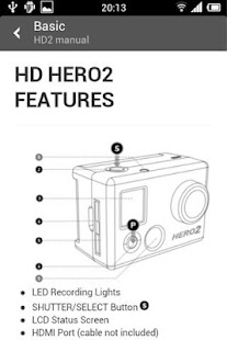 GoPro Guide - Hero 3 Camera- screenshot thumbnail