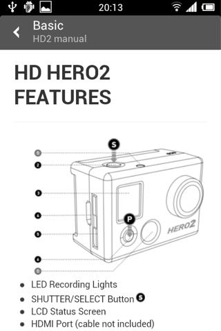 GoPro Guide - Hero 3 Camera- screenshot