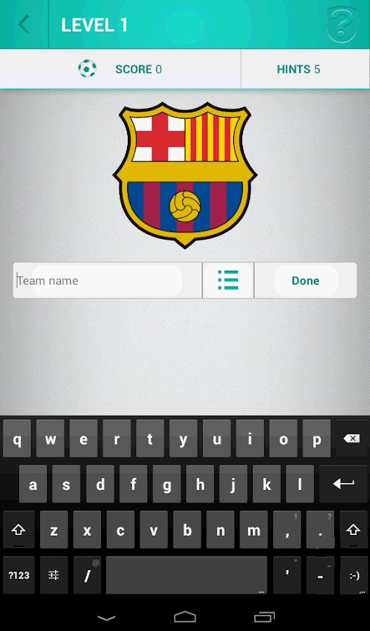 Football Logo Quiz - screenshot