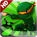Ninja Rush HD logo