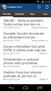 Prezident 2013 - screenshot thumbnail