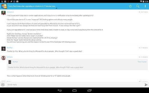 Windows Forums- screenshot thumbnail