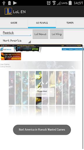 【免費模擬App】LOL EN GUIDE-APP點子