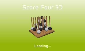 Screenshot of Score Four 3D