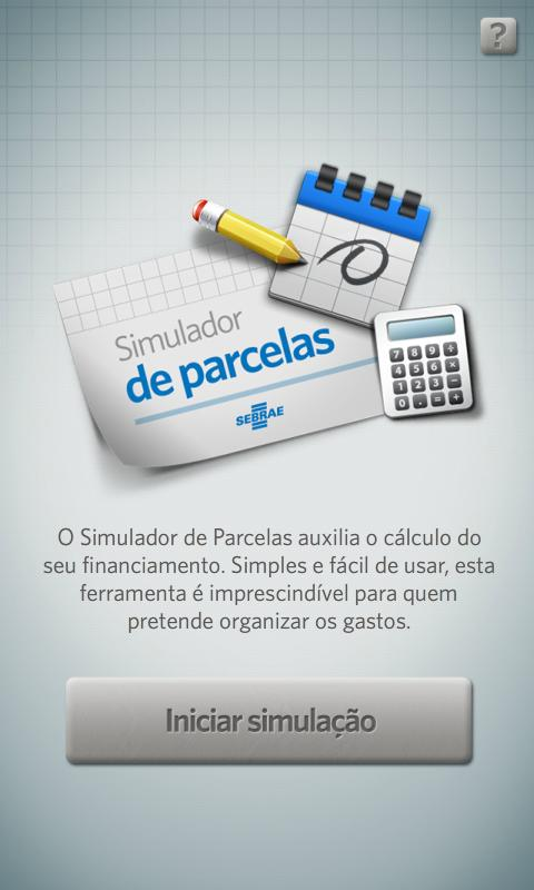 Simulador de Parcelas SEBRAE- screenshot