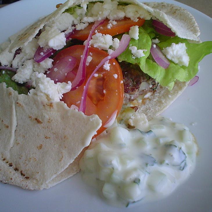Greek Burgers Recipe