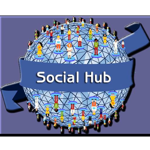 Social Hub(Free) 社交 App Store-愛順發玩APP