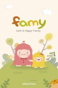 Famy - 位置跟踪器 兒童 家庭所在地 家庭安全