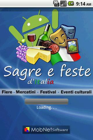 Sagre e Feste - screenshot