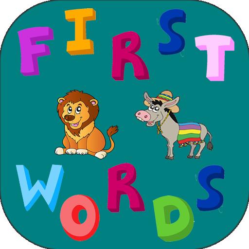 First Words Animals  Kids