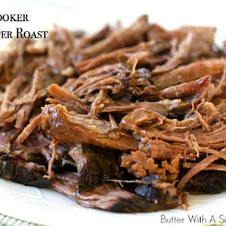 SLOW COOKER DR.PEPPER ROAST.