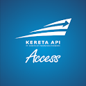 Kereta Api Indonesia Access icon