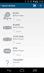 Wahoo Fitness: Workout Tracker – Miniaturansicht des Screenshots
