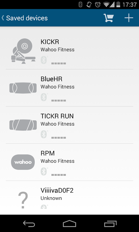Wahoo Fitness: Workout Tracker – Screenshot