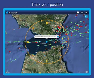 MarineTraffic ship positions- screenshot thumbnail