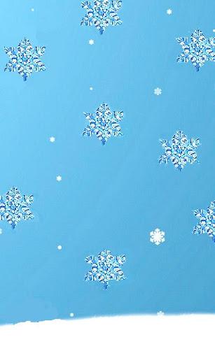 Snowing Live wallpaper
