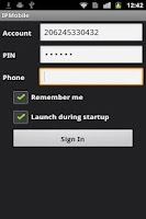 Screenshot of IPMobile
