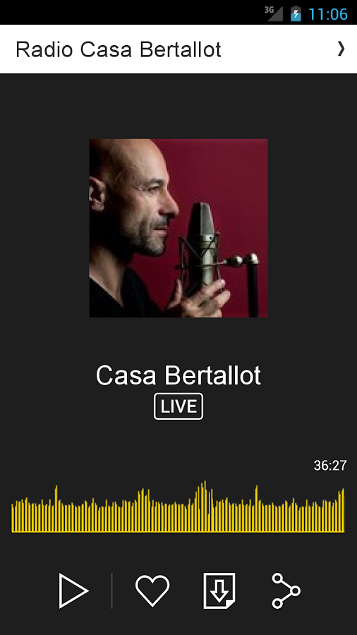 Radio Casa Bertallot- screenshot