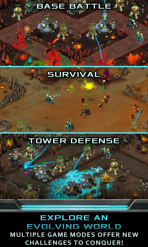 Nitropia: War Commanders screenshot #2