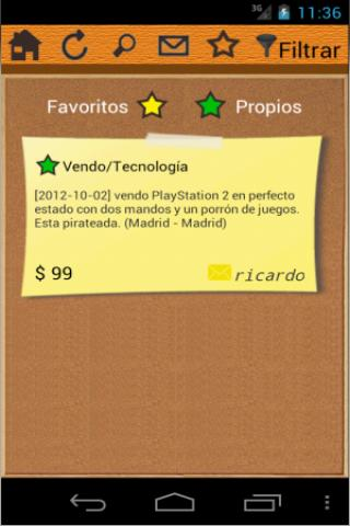 Ad2Get (classified ads) - screenshot
