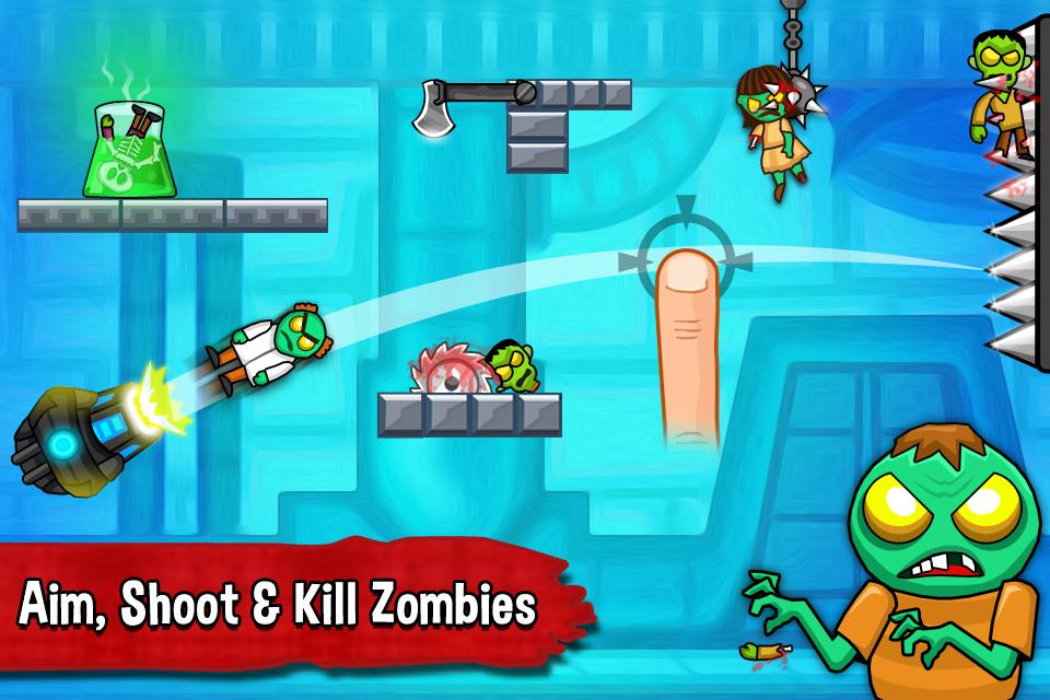 Zombie Ragdoll - screenshot