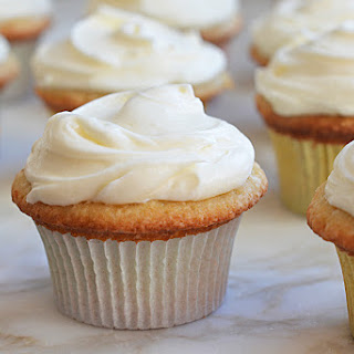Buttermilk Cupcakes with Cream Cheese Frosting