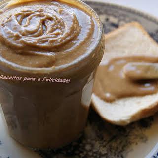 Homemade Peanut Butter.