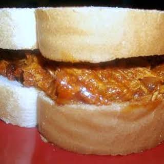 Turkey BBQ Sandwiches.