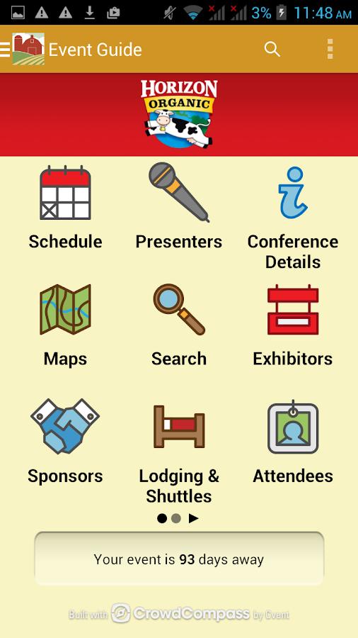 MOSES Organic Conference - screenshot