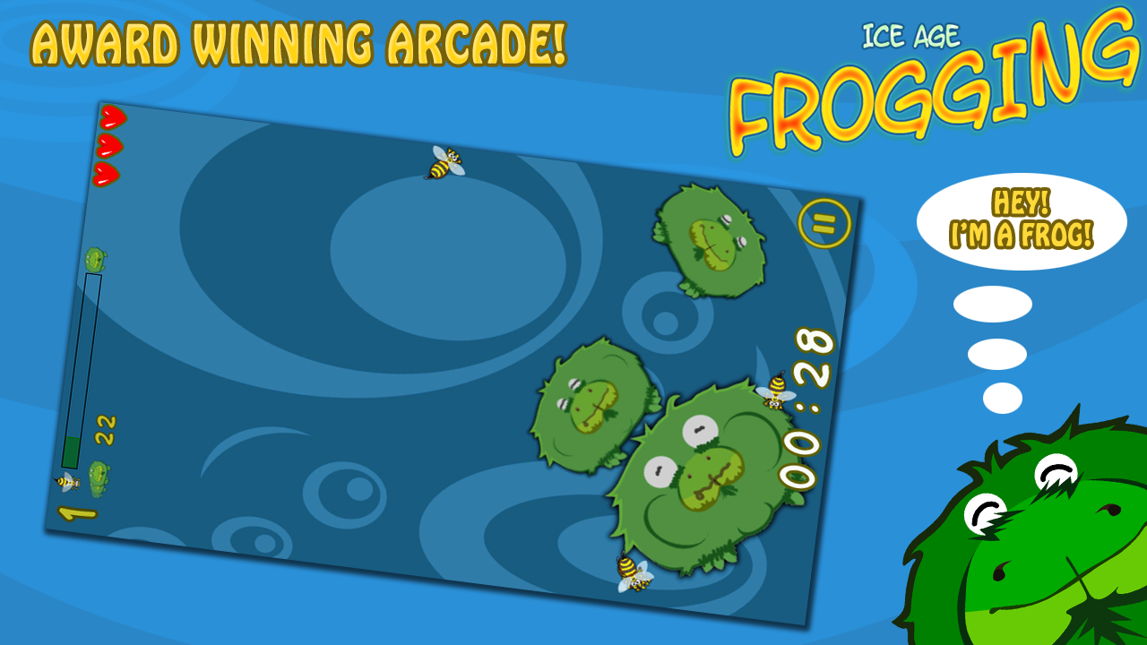 Ice Age Frogging Free - screenshot