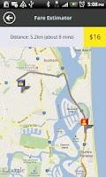 Screenshot of Gold Coast Cabs