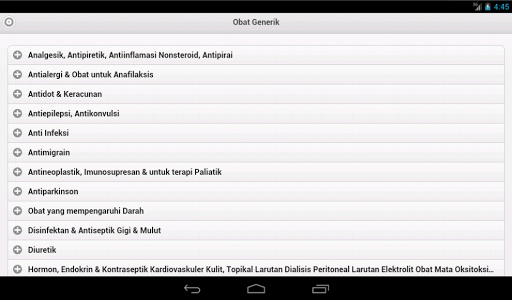 【免費醫療App】Obat Generik-APP點子