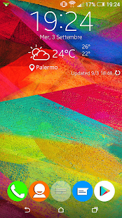 Galaxy Note 4 Zooper Widget