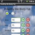 Healthy Me Body Fat calculator icon
