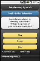 Screenshot of Relaxation - Sleep Hypnosis
