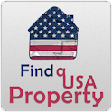 Find a USA property logo
