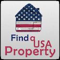 Find a USA property logo