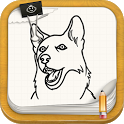 Draw Dogs and Puppies icon