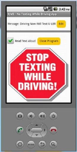 QMS No Texting