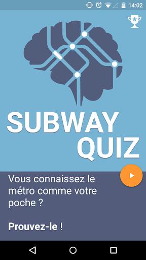 Subway Quiz